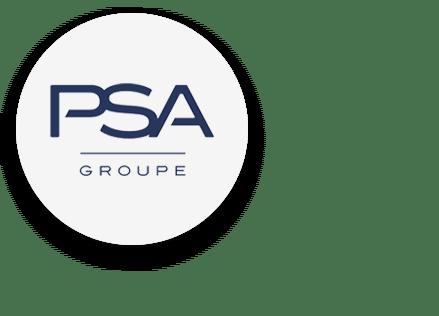 Logo PSA rond